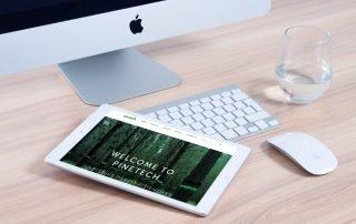 Pinetech Website Design Paulownia