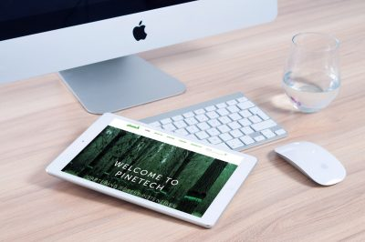 Pinetech Website Design Paulownia